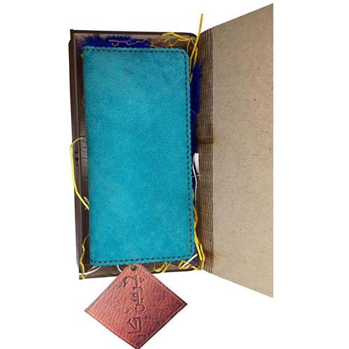 کیف پول چرمی با جعبه